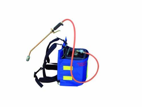 2EBALM 3760113030109 Manuflam Sécurité avec Housse, Bleu/Gris/Orange, 50x38x13 cm