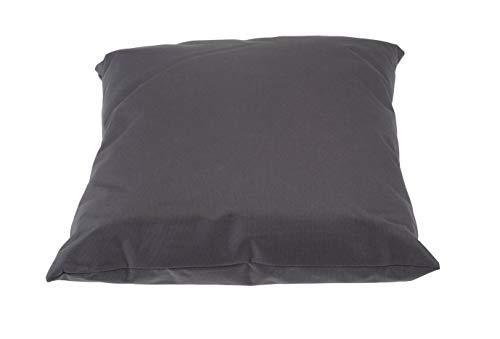 Outdoor Kissen 40x40 cm - in grau - Kissen für draußen - Wasserdicht - Für Lounge, Sitzecke, Liege etc.