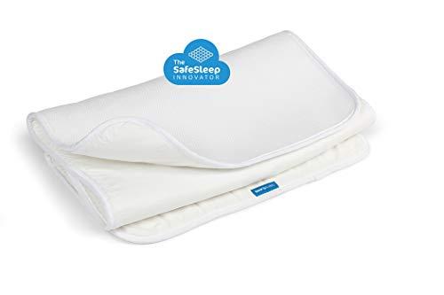 AEROSLEEP - Protège matelas Sleep Safe - Permet à votre enfant de respirer librement - Stucture 3D alvéolée - 120 x 60cm - Blanc