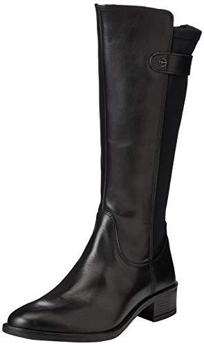 Tamaris Damen 1-1-25531-25 Kniehohe Stiefel, schwarz, 41 EU