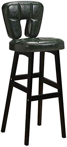 SUGEWANJBD houten barkruk ergonomie gevoerde rugleuning van leer is eettafel en stoelen op kantoor keuken bar balcony restaurant cafe office Pub Balcone