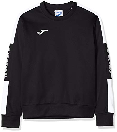 Sweatshirt de Football pour Homme, Taille XL, Noir/Blanc