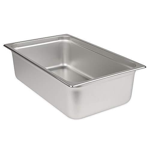 Update International SPH-1006 Steam Table Pan, 15-Inch, Silver