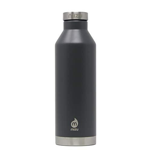 Mizu V8 Isolierte Flasche mit Edelstahl Deckel 750ml Enduro Grey 2021 Trinkflasche