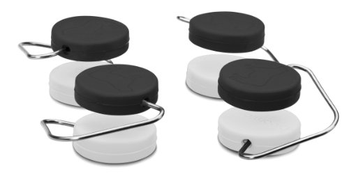 Dreamfarm DFCB4526 Set de 8 Chobs 4 Noir 4 Blanc