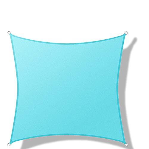 YYDM Sombra De Sun Shade, Vela Anti-Ultravioleta A Prueba De Agua 400D, Fácil De Instalar Y Plegar, Adecuado para Patio, Jardín, Balcón, Garaje,Sky Blue 3 * 3