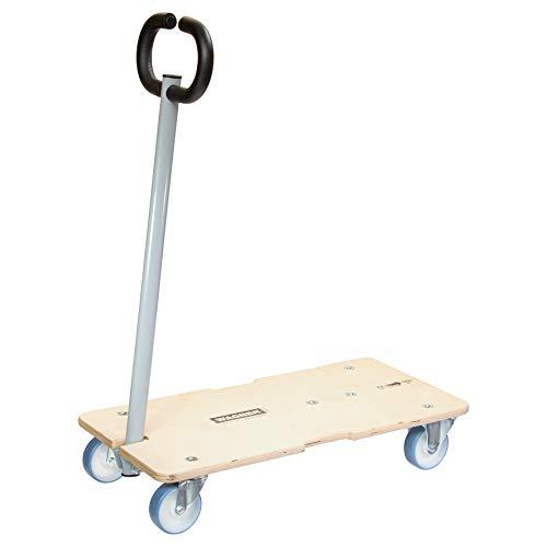 WAGNER Plataforma de Carga MM 1333, Extensible, Lanza Plegable, 74-101 x 37cm - para Cargas de Diferentes Tamaños, 200 kg de Capacidad de Carga, 25 Años de Garantía, Flexiblemente Ajustable – 20133301