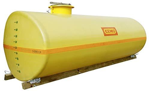 Cemo GFK-Tank oval 600 Liter 2.000 Liter kurz Schnellläufer mit Einbuchtung