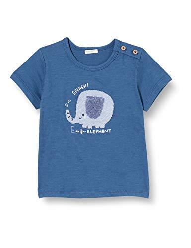 UNITED COLORS OF BENETTON T- Shirt Pull sans Manche, Bleu (Ensign Blue 217), 68 Bébé garçon