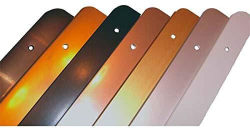 Rolabond Küchen Arbeitsplatten Ecke Gelenk matt Silber 40mm x 630mm