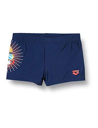 potente para casa ARENA Boys Swim Shorts Lolly Slim Fit Swimwear, Hombres, Niños, Azul Marino, 110