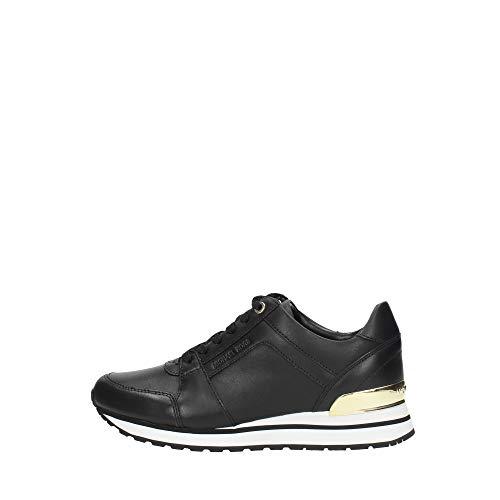 Michael Kors Sneakers Billie Damen - Leder (43T9BIFS7LBLACK) 38 EU