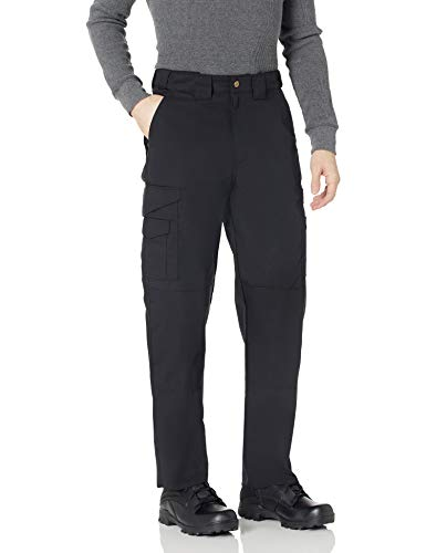 TRU-SPEC Men's 24-7 Series Original Tactical Pant, Black, 28W Unhemmed