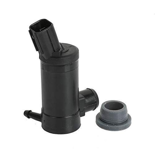 Windshield Washer Pump W/Grommet 13126-232316B 89017059C 8-6729 Compatible With Ford Lincoln Mazda Mercury