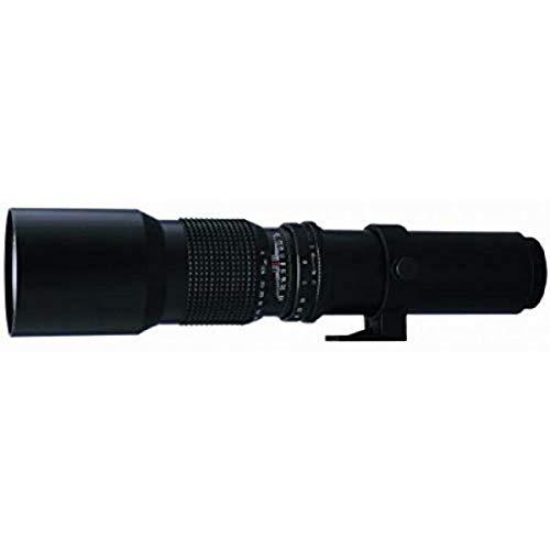 Bower SLY500PC - Teleobjetivo de Alta Potencia para Canon (500 mm, f/8)