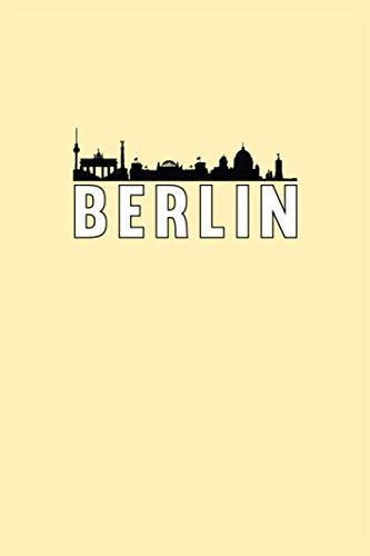 Cuaderno de Berlín: Cuaderno de planificación de Berlín Cuaderno de agenda | punteado (120 páginas, 15,2 x 22,9 cm, 6' x 9' ...) regalo para ... (Ciudades europeas: cuadernos de viaje)