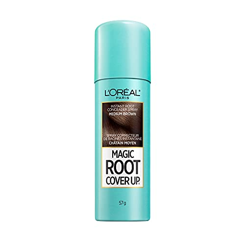 L'Oreal Paris Hair Color Root Cover Up Dye, Light to Medium Brown, 2 Ounce by L'Oreal Paris