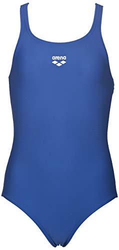 ARENA Mädchen LTS Jr Pro Back Waterfeel One Piece Badeanzug, Mädchen, Badeanzug, LTS Jr Pro Back Waterfeel One Piece Swimsuit, königsblau, 28