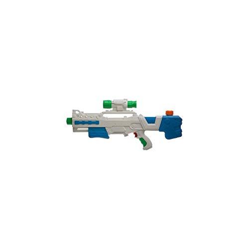 AC-Déco Pistolet à Eau 1 Jet - L 51 X L 23 X H 5 Cm - Plastique - Modèle Aléatoire
