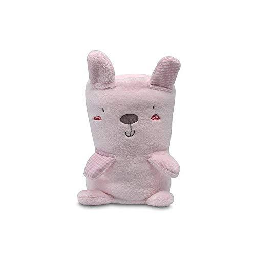 pirulos 86220804 – Couverture Toy microfibre, 80 x 90, Forest, couleur : rose