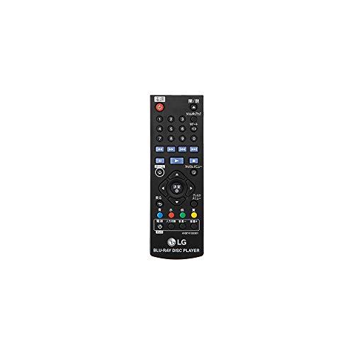 LG BP250 Blu-Ray and DVD Disc Player with Full HD Up-scaling and external HDD playback - Black (UK Plug)