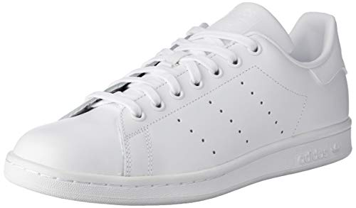 Adidas Stan Smith Scarpe Low-Top, Unisex adulto, Bianco, 46