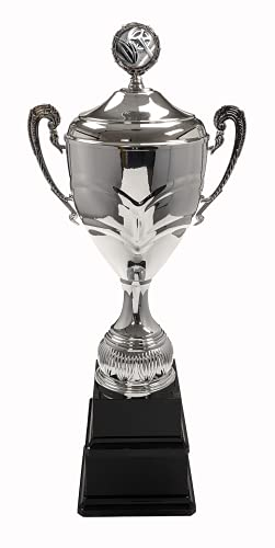 Trophy Monster Cycling Super-Sized Double Base Cup   Metal Bowl, Handles, Lid   Free Engraving   Free Logo on Lid   Ideal Annual Award to last Lifetime   3 sizes 595mm – 685mm