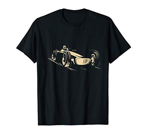 Race Car Gift Racing Sports Auto Racer Go Vintage Cart T-Shirt