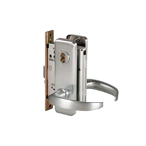 BEST Access Systems 45H7A14J626 45H Office Mortise Lock, Steel