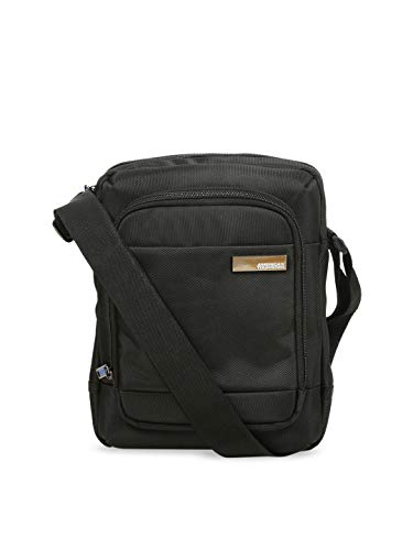 American Tourister Unisex Messenger Bag (Black)
