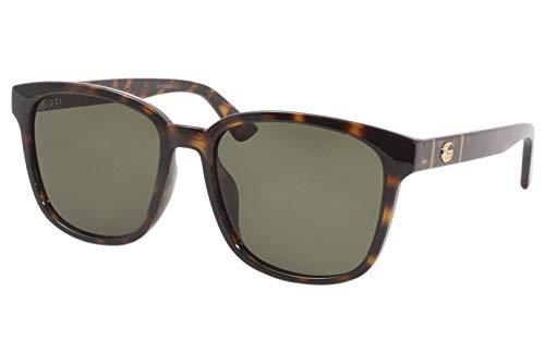 Gucci Gafas de Sol GG0637SK HAVANA/GREEN 56/18/150 hombre