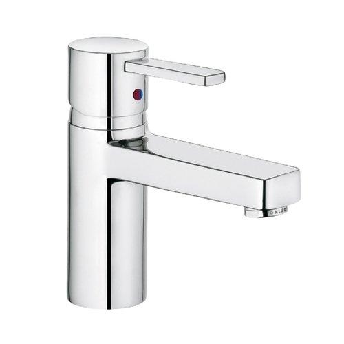 Kludi Waschtisch-Einhebelmischer Zenta XL mit geschlossenem Hebel, verchromt, 382620575