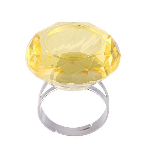 Coupe bague, Pigment anneau d'ongle, Extension de cils, Adhésif de bague de recouvrement Débutants et professionnels(Yellow)