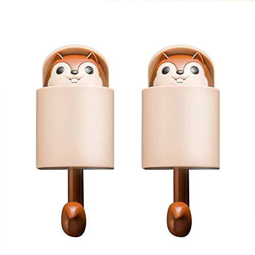 Yangsanjin wandhaken van kunststof, creatief design, voor badkamer, toilet, hal, huisdecoratie
