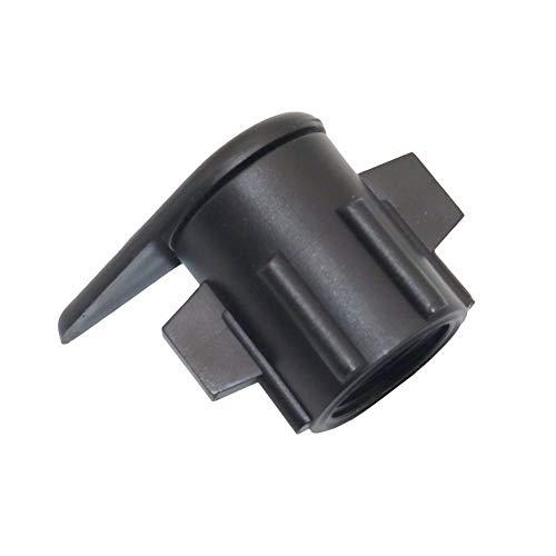 Tubería 5 piezas de arranque de conectores for establecer planos de 3/8' x 1/2' jardinería de riego accesorios de jardín Accesorios de conectores de agua por goteo de cinta (Diameter : 19mm)