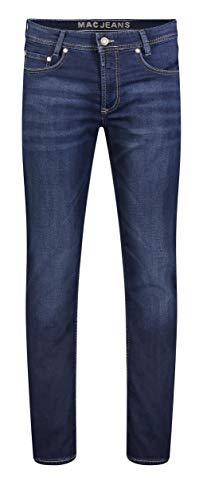 MAC Herren Straight Leg Jeanshose Jog'n Jeans, Blau (Dark Blue Authentik used H743), W36/L32 (Herstellergröße: 36/32)