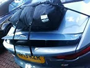 Jaguar F Type Convertible Trunk Luggage Rack : Hand Made in England Since 2008. Waterproof Luggage Bag Straps to Trunk Lid Sits on Soft Mat to Protect Paint.