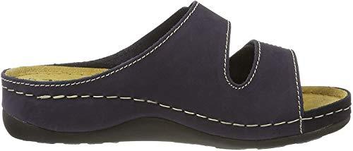Tamaris Damen 27510 Pantoletten, Blau (Navy 805), 41 EU