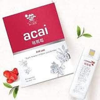 100% Natural Acai Acerola Berry 60 Capsules, Anti Spot Spotless Whitening Antioxidant Melanin Pigment, Super Food with Vitamin C Vegan Ascorbic Acid – 60 Count