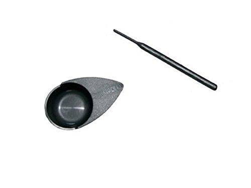 Mini Faerbeschale und Staebchen für Wimpernfarbe- & Augenbrauenfarbe * MilleniumHair