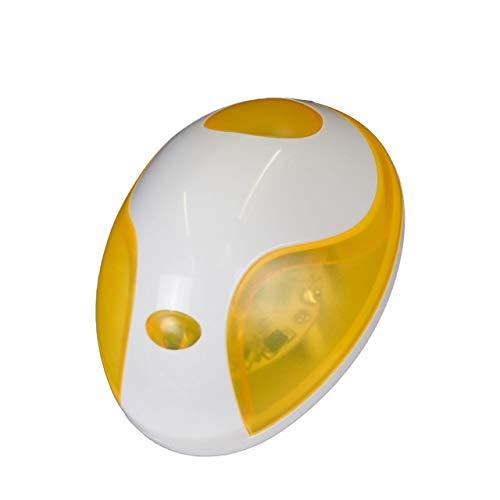 Mellert SLT TL 750 Nachtlicht modernes Design-Nachtlicht, ideal für Kinderzimmer und Schlafzimmer, minimaler Stromverbrauch dank LED Technik Gelb - Kingdiscount, Ihr Spezialist für LED-Taschenlampe, Dynamolampe, Handlampe und Stiftlampe