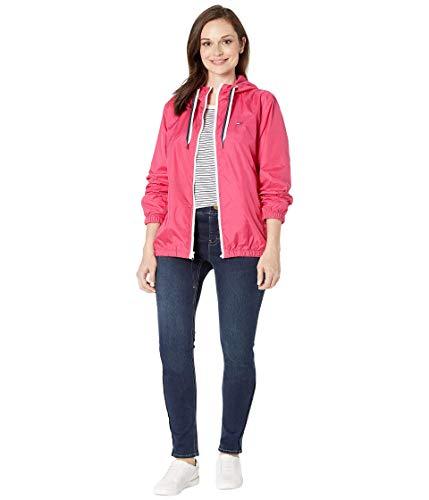 Tommy Hilfiger Damen ADP W THD Classic Nylon Jacket Jacke, Raspberry Sorbet, X-Small