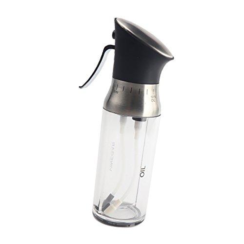 Baoblaze Pulverizador de Aceite con Boquillas para Vinagre Aceite de Oliva Miel Recipiente de Agua