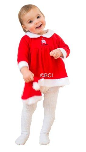 Generique - Déguisement mère Noël bébé