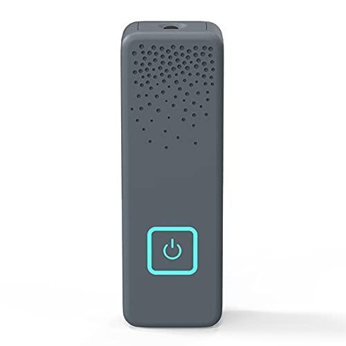 Staright Purificador de ar aniônico portátil tipo clipe O cheiro peculiar elimina o cheiro de formaldeído de cigarros PM2.5 Mini purificador doméstico Filtro de ar Sem consumíveis Fácil de transportar