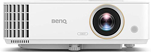 BenQ TH685 1080p Gaming Projector - 4K HDR Support - 120hz Refresh Rate - 3500lm - 8.3ms Low Latency - Enhanced Game Mode - 3 Year Industry Leading Warranty (Renewed)