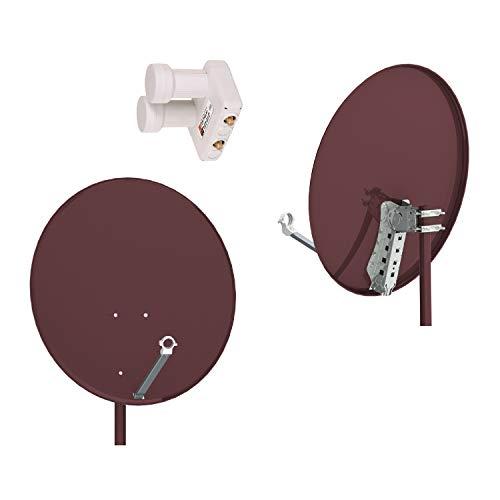 Opticum de Control de Calidad de Acero Antena de satélite 80, Color:...