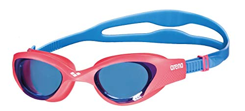 ARENA Kinder Schwimmbrille The One Junior, lightblue-Red-Blue, Size