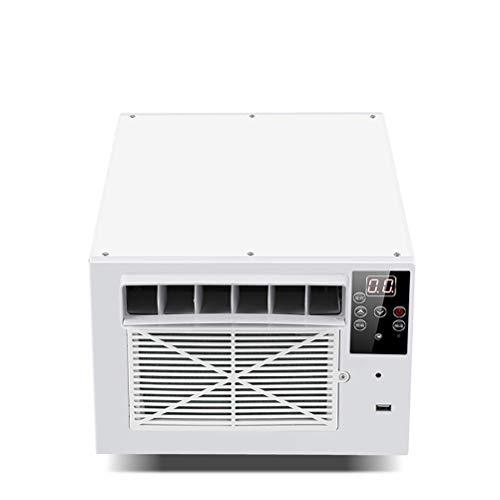Mini compresor de Aire Acondicionado Temporización Inteligente con Pantallas LED de Control Remoto y purificador de iluminación para el hogar