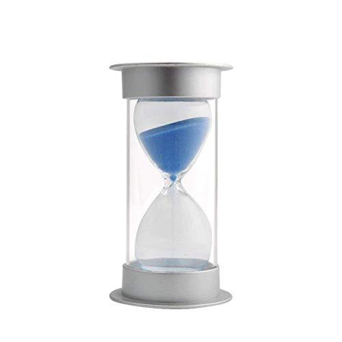 INSTO Reloj de Arena, 60Minutos Temporizador de Arena Sandglass Sand Reloj de Arena para Mesa de Oficina Mesa de Centro Estante de Libros Decoración Del Gabinete,Azul